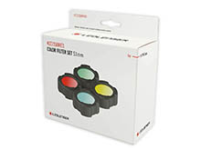 Ledlenser 880579 Color Filter Set 53mm for P17R Core - 4 Colors