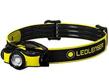 Ledlenser iH5R Rechargeable LED Headlamp - 400 Lumens - Includes 1 x 14500