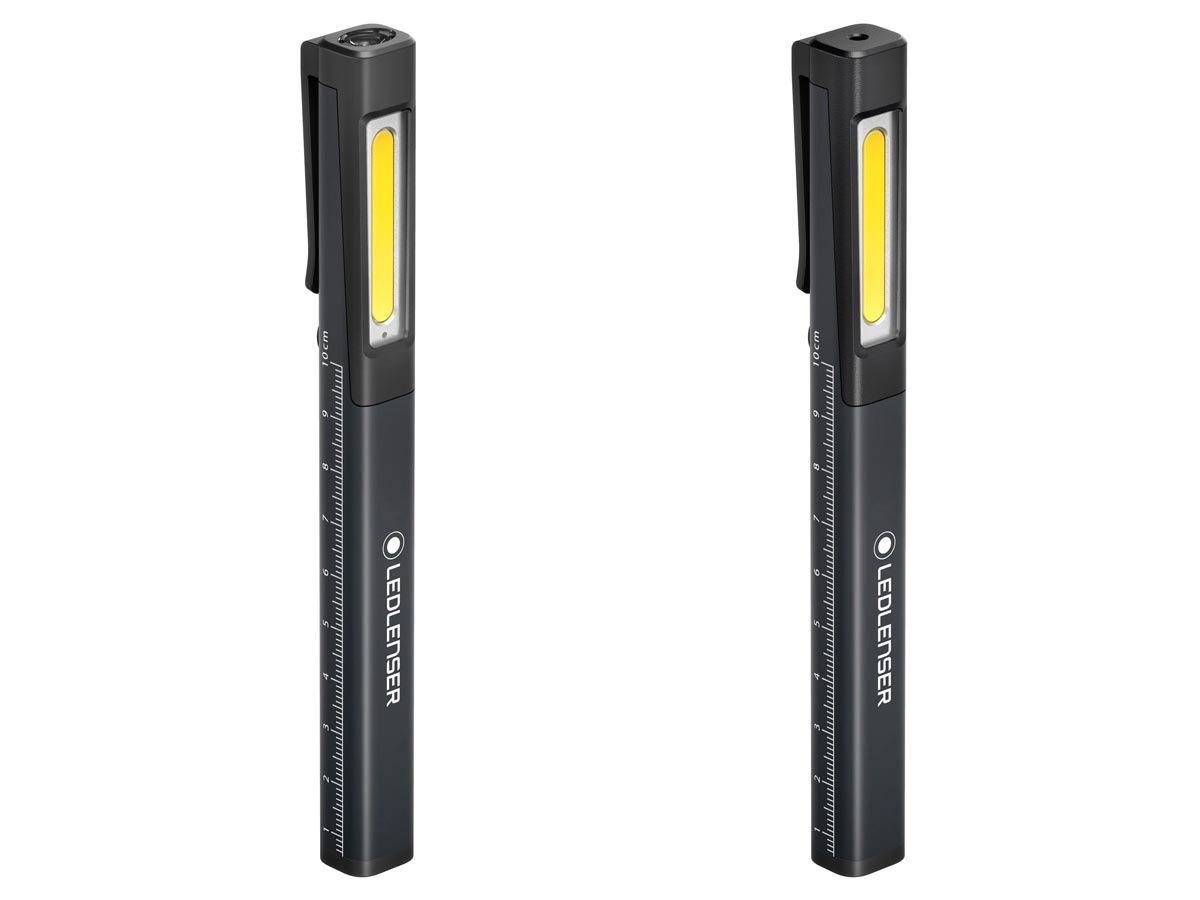 Ledlenser iW2R Flashlight - Vertical 1