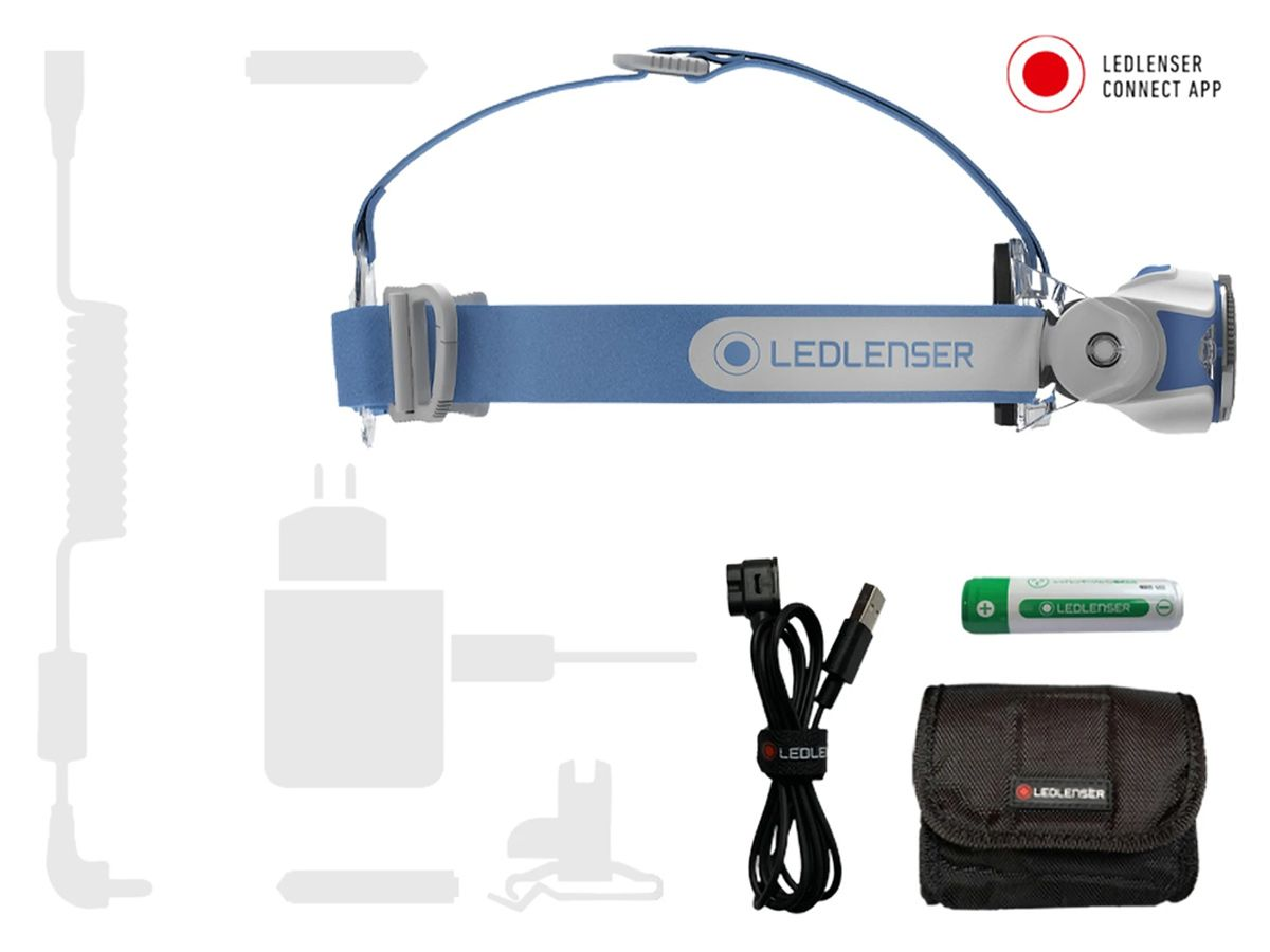 Ledlenser MH11 headlamp in black packaging