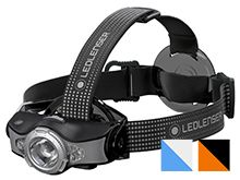 Ledlenser MH11 Rechargeable LED Headlamp - Xtreme Multi-Color LED - 1000 Lumens - Includes 1 x 18650 - Available in Black/Grey (880467), Blue/Grey (880466), or Orange/Black (880543)