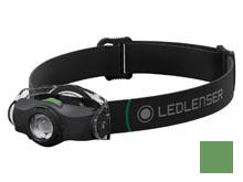 Ledlenser MH4 Rechargeable LED Headlamp - 400 Lumens - Includes 1 x 14500 - Black (880545), Camo (880546)