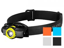 Ledlenser MH5 Rechargeable LED Headlamp - 400 Lumens - Includes 1 x 14500 - Yellow (880535), Black (880536), Orange (880537), Blue (880538), and White (880544)