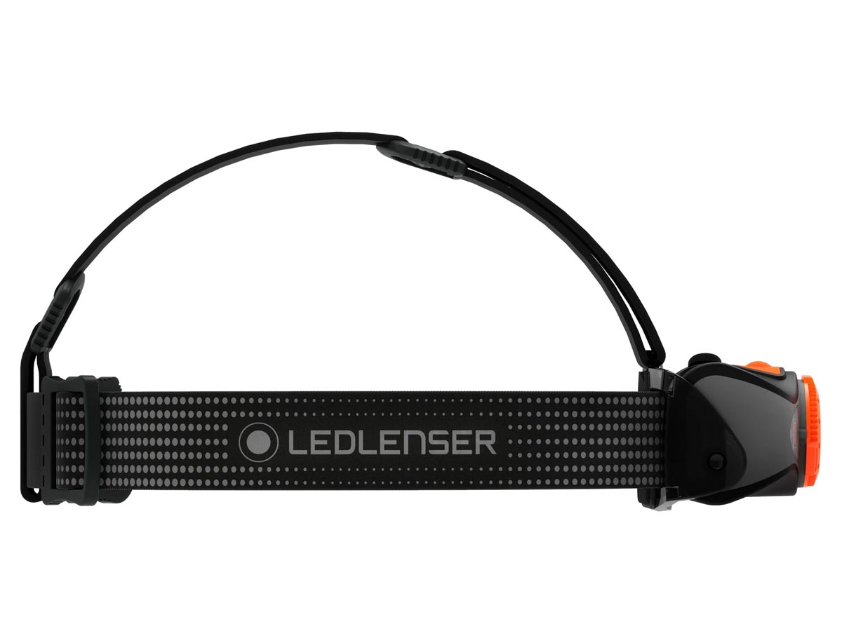 Ledlenser MH7 Headlamp - Orange (880541) - Horizontal