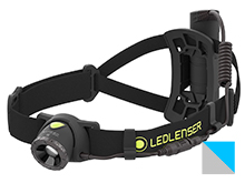 Ledlenser NEO10R Rechargeable LED Headlamp - 600 Lumens - Includes 1 x 18650 - Available in Black (880464) or Blue (880463)