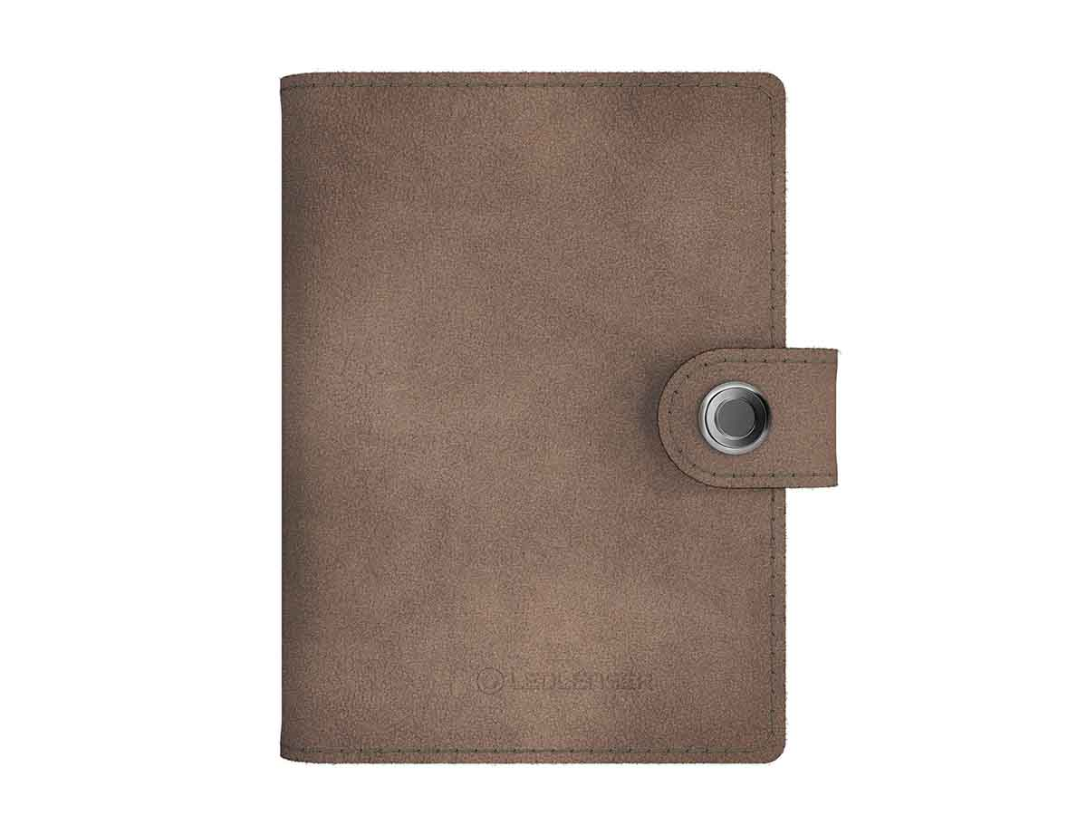 Lite wallet taupe gray