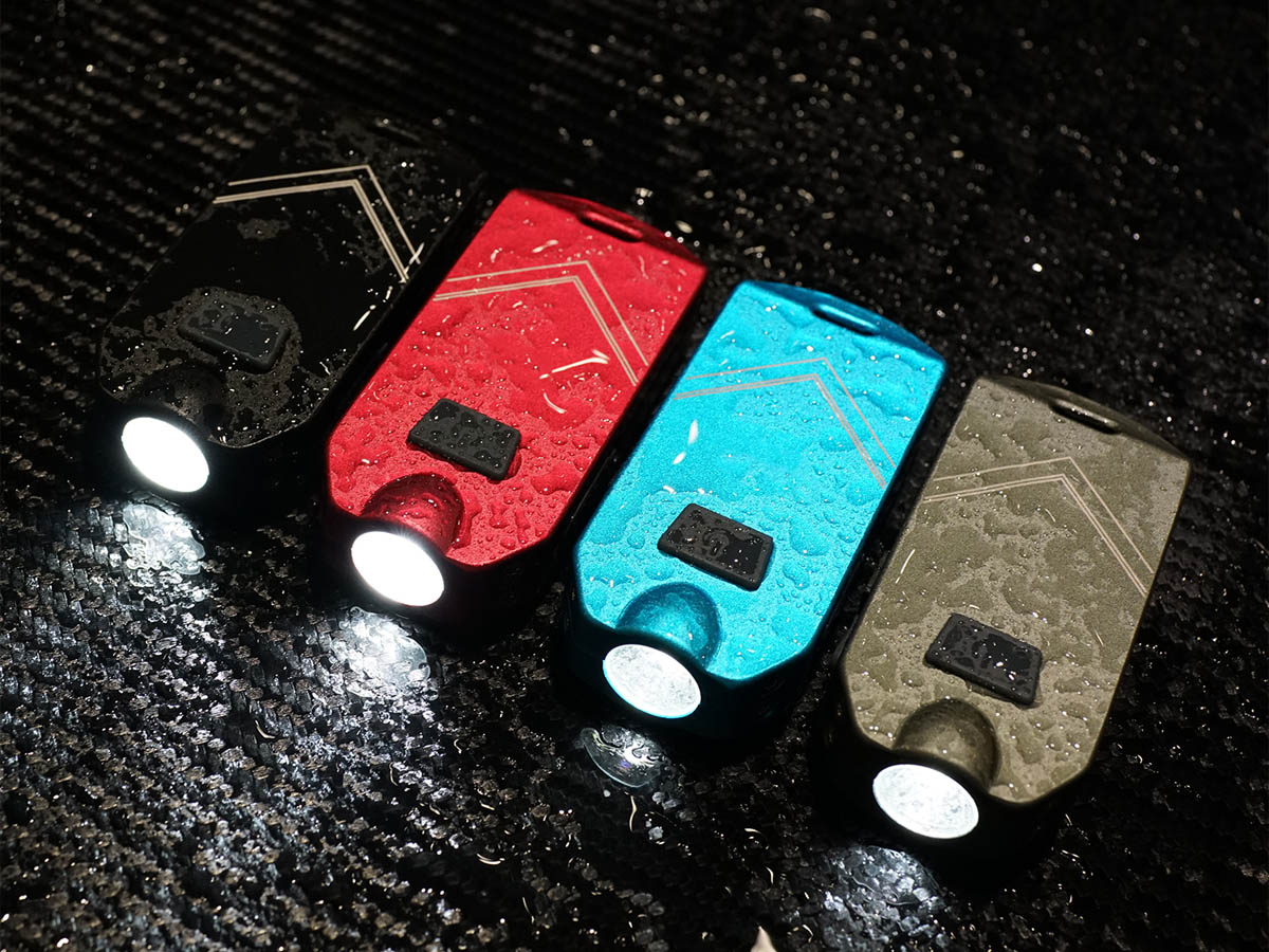 MecArmy SGN6 Rechargeable Personal Attack Alarm and LED Flashlight - CREE XPL-HI V LED - 738 Lumens - Includes Built-In 650mAh Battery Pack - Multicolor Options