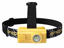 Nitecore HA23-EX Intrinsically Safe LED Headlamp - CREE XP-G - 100 Lumens - Uses 2 x AA