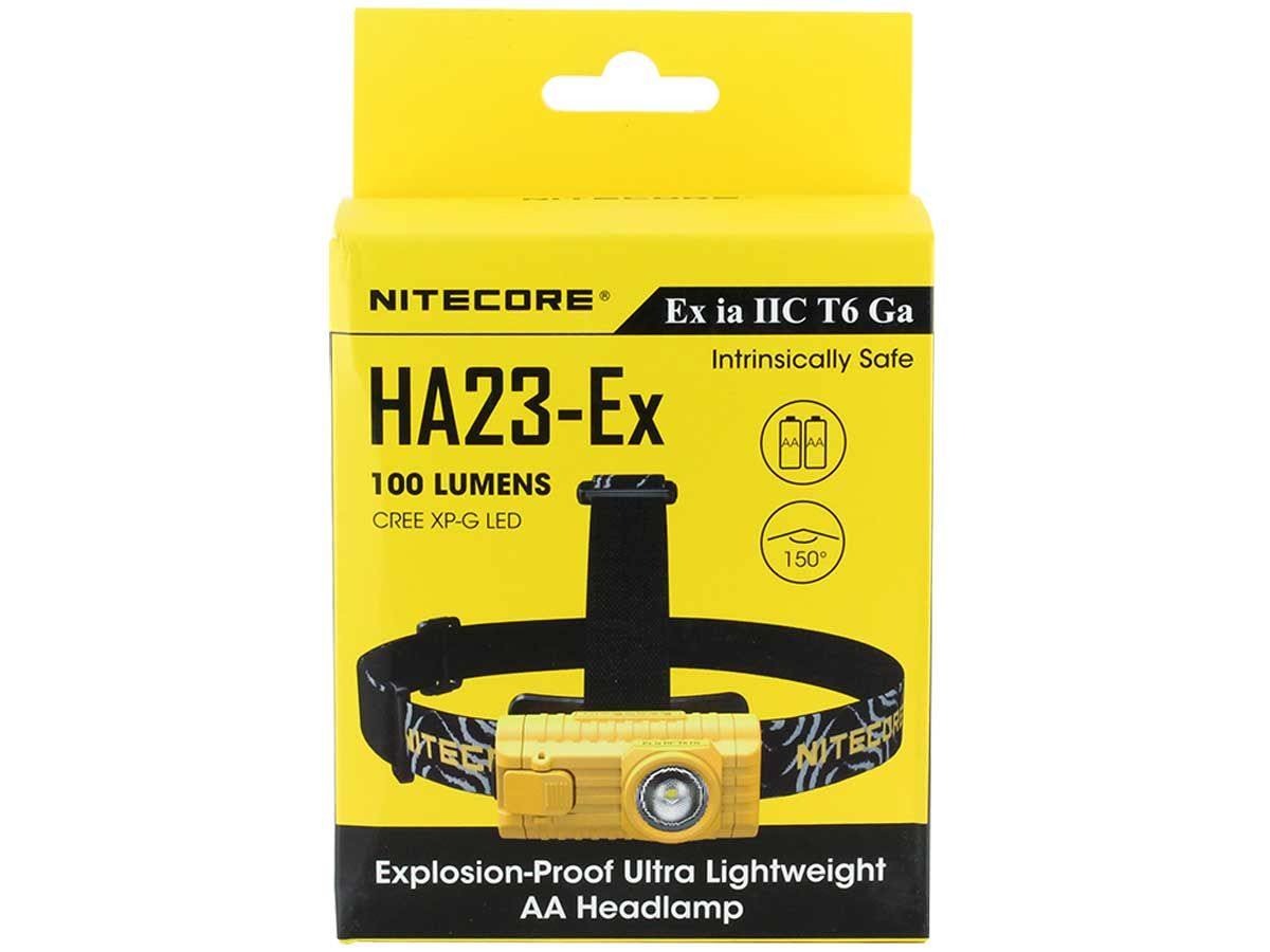 Nitecore HA23-EX packaging front