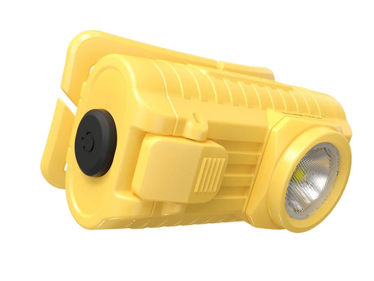 Nitecore HA23-EX power button and LED