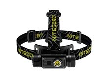 Nitecore HC60-V2 USB Rechargeable Headlamp  - 1,200 Lumens - Uses 1 x 18650 (Included) or 2 x CR123As