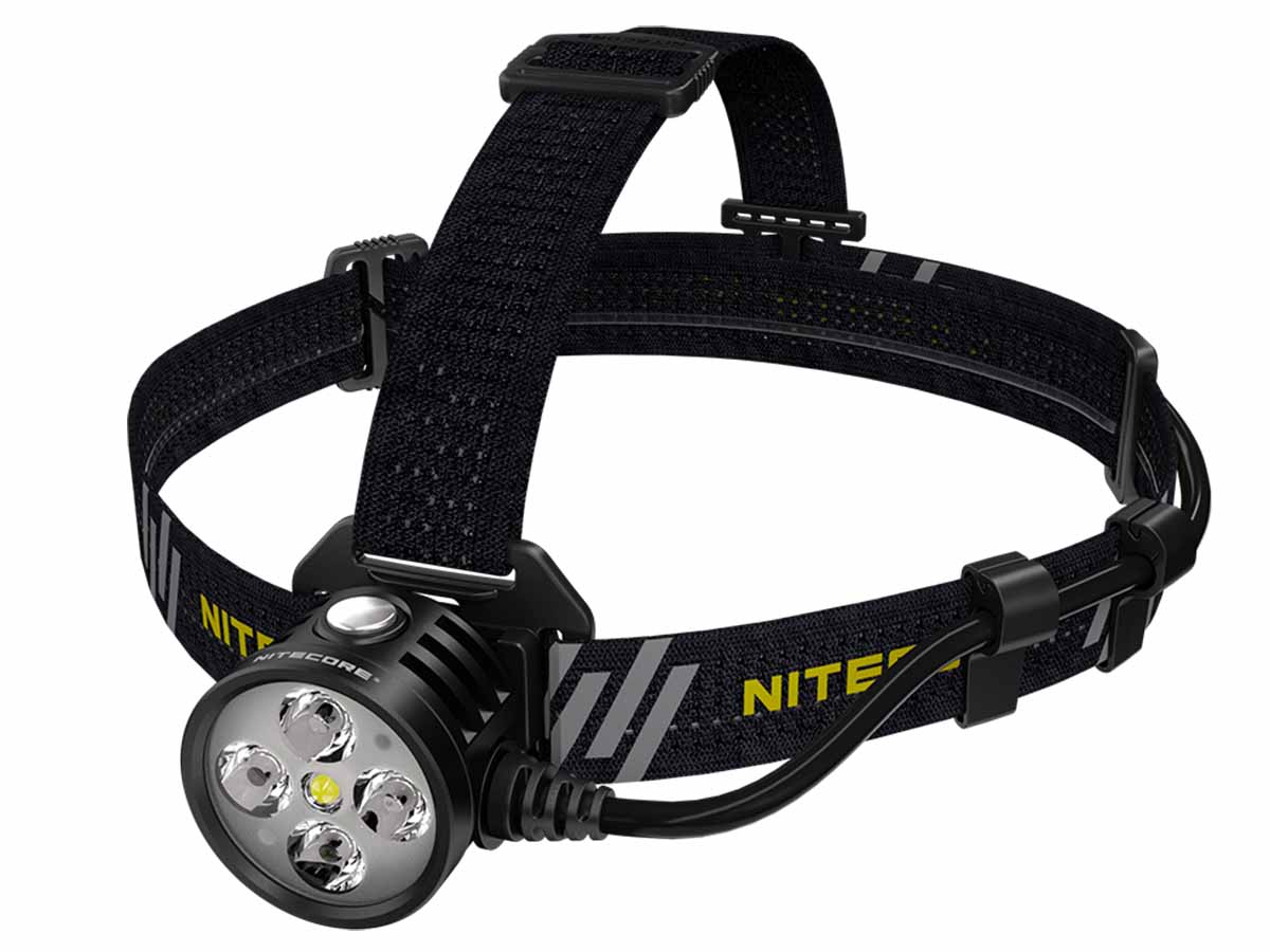 Nitecore HU60 left side angle
