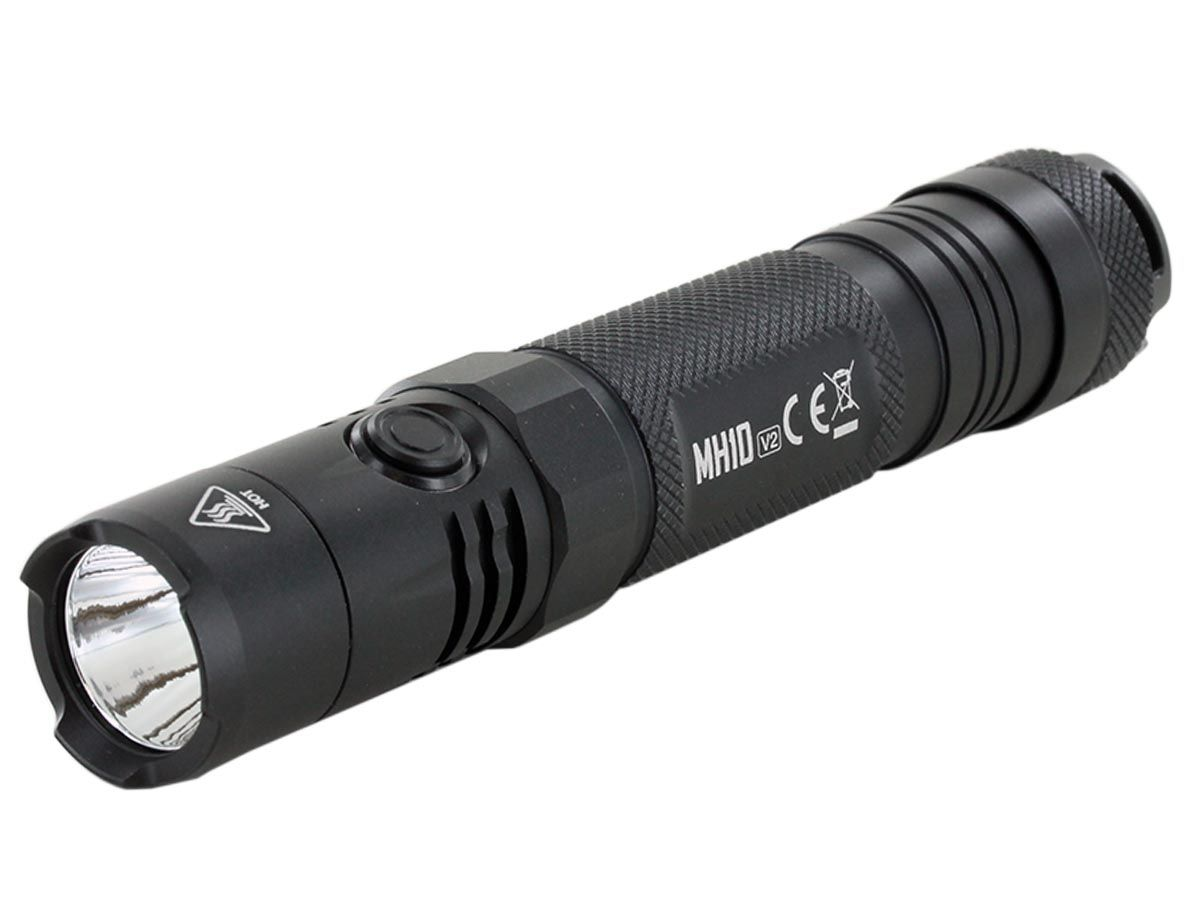 Nitecore MH10 V2 left side angle