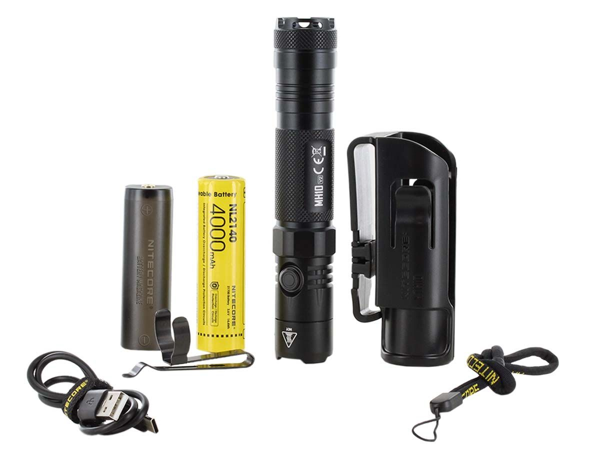 Nitecore MH10 V2 accessories