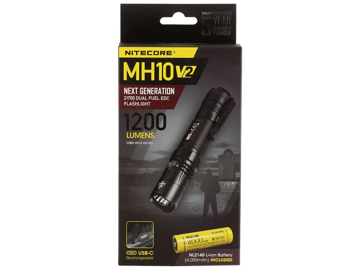 Nitecore MH10 V2 packaging front