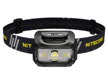 Nitecore NU35 Dual Power Hybrid USB-C Rechargeable LED Headlamp - 460 Lumens - Uses Built-In Li-ion Battery pack or 3 x AAA