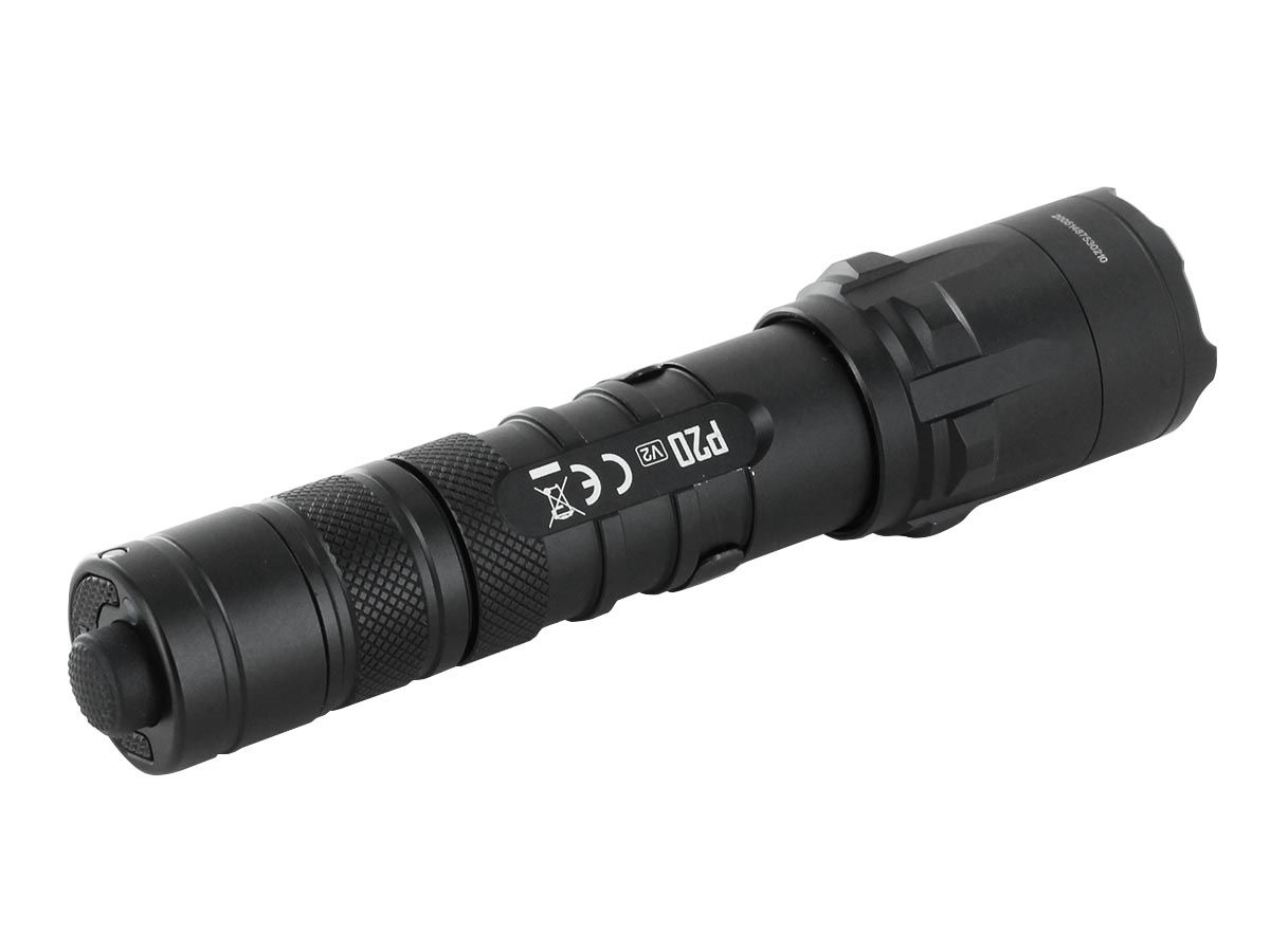 Nitecore P20 V2 2020 Tactical Flashlight Tailcap