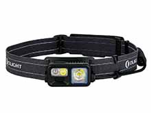 Olight Array 2S Wave Control Rechargeable LED Headlamp - 1000 Lumens - Uses Built-in 2600mAh Li-ion Battery Pack