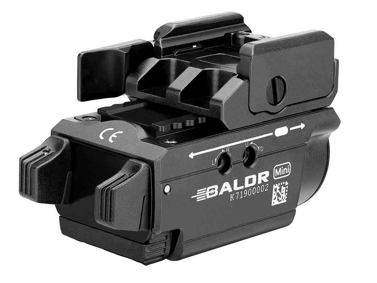 Baldr mini black back angle