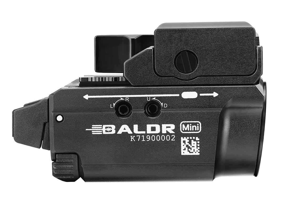 Baldr mini side profile - black