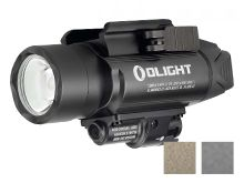Olight Baldr Pro Weapon Light with Green Laser - Black, Desert Tan, or Gunmetal Grey (Limited Edition) - 1350 Lumens - Includes 2 x CR123A