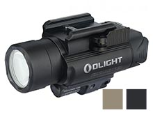 Olight Baldr RL Weapon Light with Red Laser - 1120 Lumens -  Includes 2 x CR123A - Black or Tan