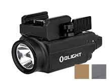 Olight Baldr S Rechargeable Weapon Light with Green Laser - 800 Lumens -  Uses Built-In 380mAh Li-Poly Battery Pack -  Black, Desert Tan, or Gunmetal Grey (Limited Edition)