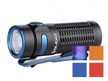 Olight Baton 3 Rechargeable LED Flashlight - 1200 Lumens - Luminus SST40 - Includes 1 x RCR123A - Available in Black, Red, Blue (Limited Edition), Orange (Limited Edition), or Purple Gradient (Limited Edition) - Standard or Premium