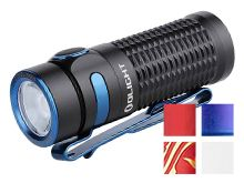 Olight Baton 3 Rechargeable LED Flashlight - 1200 Lumens - Luminus SST40 - Includes 1 x RCR123A - Available in Black, Red, Purple Gradient (Limited Edition), Blue (Limited Edition), White (Limited Edition), or Dragon Phoenix (Limited Edition) - Standard or Premium