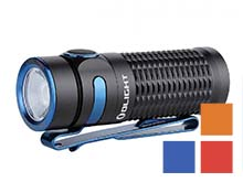 Olight Baton 3 Rechargeable LED Flashlight - 1200 Lumens - Luminus SST40 - Includes 1 x RCR123A - Available in Black, Red, Blue (Limited Edition), or Orange (Limited Edition) - Standard or Premium