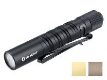 Olight I3T EOS Dual-Output Slim EDC Flashlight - Philips LUXEON TX CW LED - 180 Lumens - Includes 1 x AAA - Black, Desert Tan, or Brass (Limited Edition)