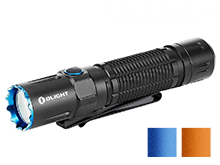 Olight M2R Pro Rechargeable LED Flashlight - 1800 Lumens - 21700 Battery and MCC3 Charger Included - Bundle Available - Black, Blue (Limited Edition) or Orange (Limited Edition)