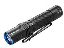 Olight M2R Pro Rechargeable LED Flashlight - 1800 Lumens - 21700 Battery and MCC3 Charger Included - Bundle Available - Black