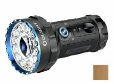 Olight Marauder 2 USB-C rechargeable LED Searchlight- 14000 Lumens - OSRAM KW CULPM1.TG - Includes Built-In 10.8V 5,000mAh Li-ion Battery Pack - Black or Desert Tan (Limited Edition)