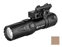 Olight Odin Mini Ultra-Compact M-Lok Mount Rechargeable Weapon Light - 1250 Lumens - CREE XHP35B HD - Includes 1 x 18500 - Black or Desert Tan
