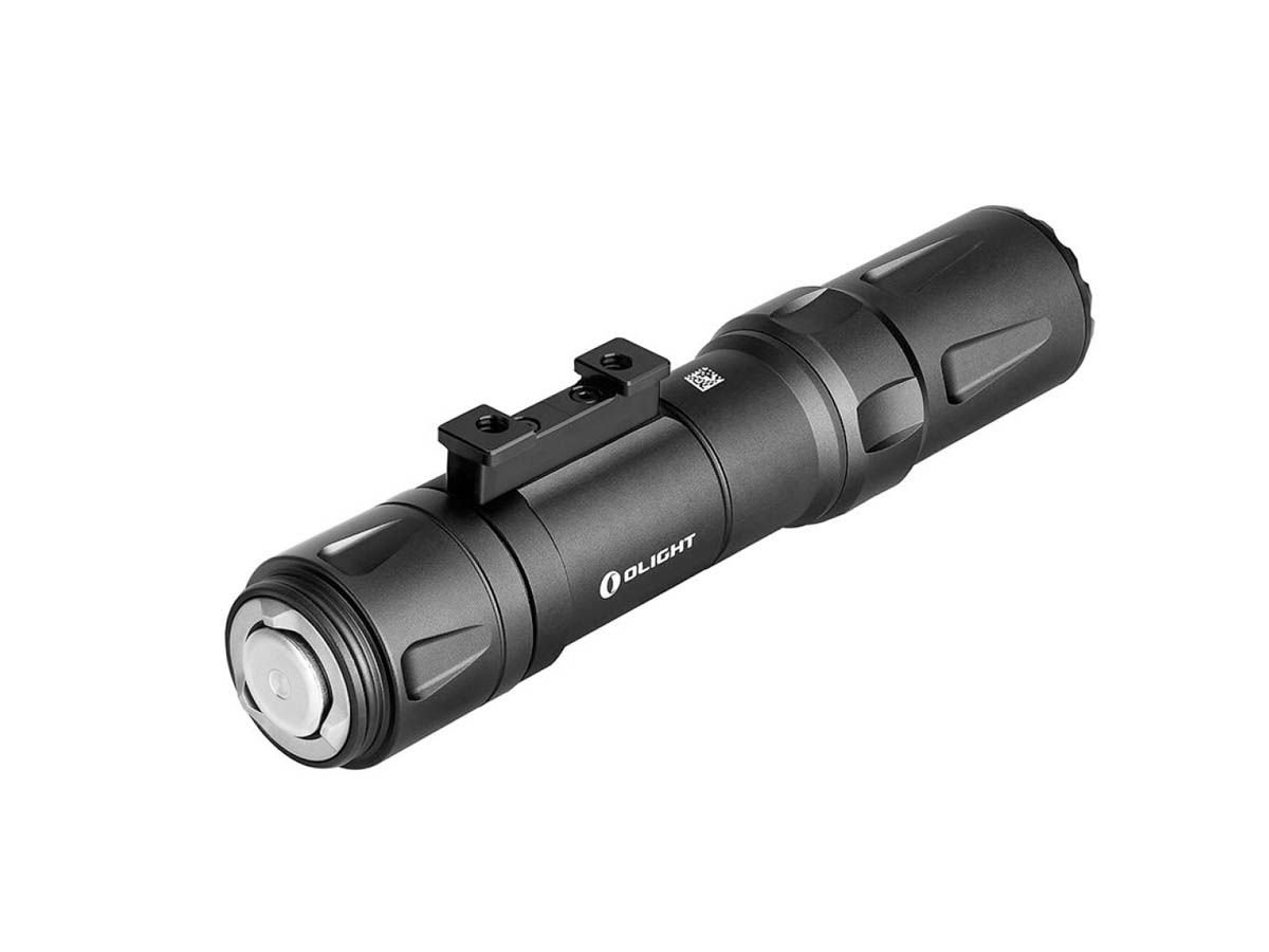 Olight Odin Tactical Weapon Mounted Flashlight in Black Diagonal