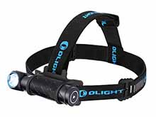Olight Perun 2 Rechargeable LED Headlamp - 2500 Lumens - CREE  XHP50B - Includes 1 x 21700