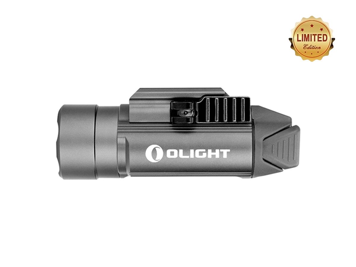olight pl 2 valkyrie grey side shot to the left