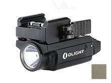 Olight PL-MINI 2 Valkyrie Rechargeable Weapon Light - CREE XP-L W2 - 600 Lumens - Uses Built-in Li-ion Battery Pack - Black or Desert Tan