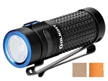 Olight S1R II Baton Rechargeable Flashlight - CREE XM-L2 U4 LED - 1000 Lumens - Uses 1 x RCR123A (included) - Black, Desert Tan or Orange (Limited Edition)