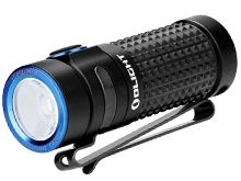 Olight S1R II Baton Rechargeable Flashlight - CREE XM-L2 U4 LED - 1000 Lumens - Uses 1 x RCR123A (included) - Black - L-Dock Kit Option Available