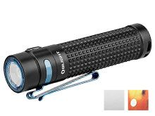 Olight S2R II Rechargeable LED Flashlight - LUMINUS SST-40 - 1150 Lumens - Uses 1 x 18650 (included) - Black, White (Limited Edition), or Lava Camo (Limited Edition)