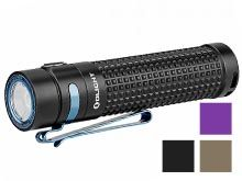 Olight S2R II Rechargeable LED Flashlight - LUMINUS SST-40 - 1150 Lumens - Uses 1 x 18650 (included) - Black, Desert Tan (Limited Edition), or Purple (Limited Edition)
