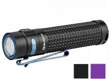 Olight S2R II Rechargeable LED Flashlight - LUMINUS SST-40 - 1150 Lumens - Uses 1 x 18650 (included) - Black or Purple (Limited Edition)