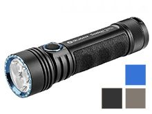 Olight Seeker 2 Pro Rechargeable LED Flashlight - 3 x CREE XP-L - 3200 Lumens - Includes 1 x 5000mAh 21700 - Black, Desert Tan, or Blue