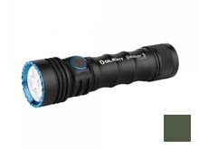 Olight Seeker 3 Rechargeable LED Flashlight - 3500 Lumens - Includes 1 x 4000mAh 21700 - Black or OD Green Limited Edition Color
