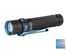 Olight Warrior Mini 2 Rechargeable LED Flashlight - 1750 Lumens - Includes 1 x 18650 - Black or Mountain Sky (Limited Edition)
