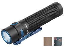 Olight Warrior Mini Rechargeable LED Flashlight - 1500 Lumens - Includes 1 x 18650 - Black, Desert Tan or Camo (Limited Edition)