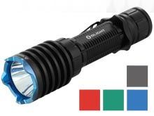 Olight Warrior X Pro Rechargeable Tactical LED Flashlight - Neutral White LED - 2250 Lumens - Includes 1 x 21700 - Black and 4 Limited Edition Colors
