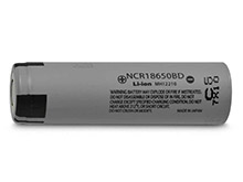 Panasonic NCR18650BD 3180mAh 3.6V Unprotected 10A Lithium Ion (Li-ion) Flat Top Battery � Boxed